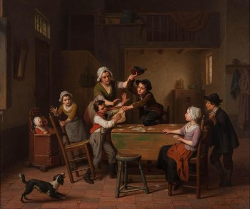 Basile dr Loose De kaartspelers