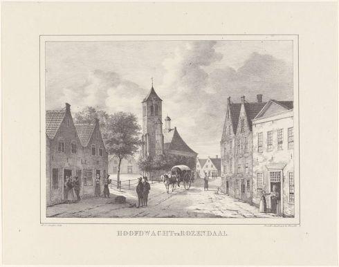 Hoofdwacht van de Schutterij in Roosendaal
