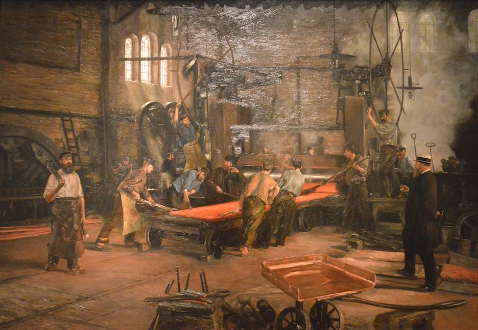 Kupferwalzwerk_bei_laufendem_Betrieb_(1891) kopie